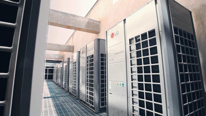 LG VRF System - Ecovair- Multi V5 Energy Efficient HVAC Solution .