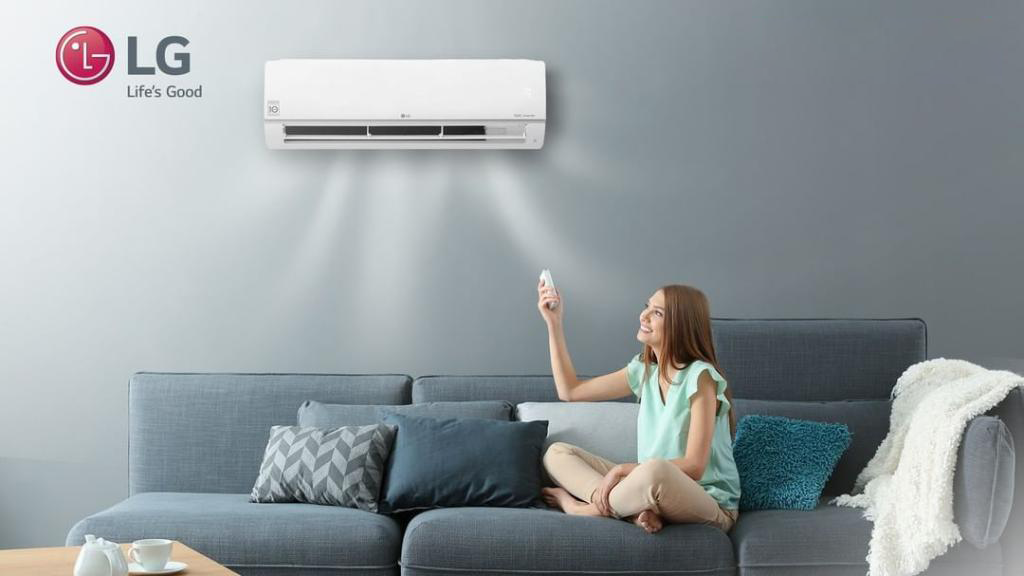 LG Split AC with dual inverter- Ecovair Solutions