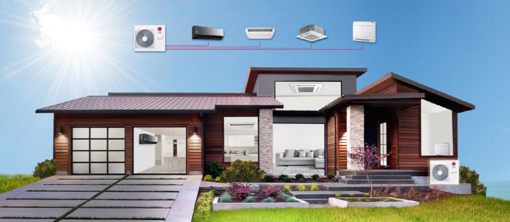 LG Multi-Split System - Ecovair HVAC Solutions